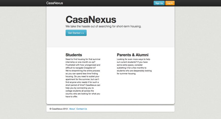 CasaNexus, 2012