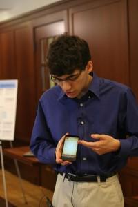 Aidan Bevacqua demonstrates MIT Locate