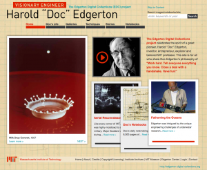 Edgerton Digital Collections